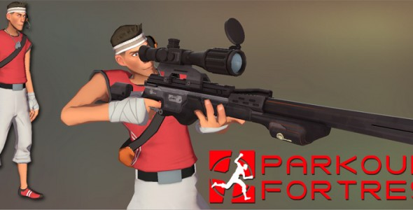 Parkour Fortress Scout Model
